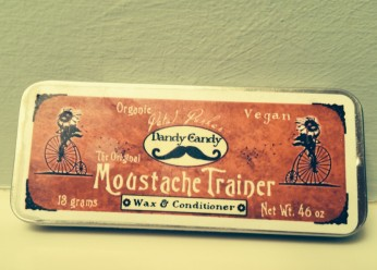 Vegan Dandy Candy Moustache Wax