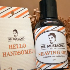 Mr. Mustachio Shaving Oil