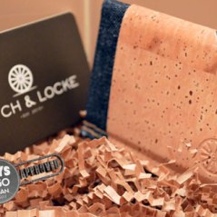 Stitch & Locke Cork and Denim Wallet